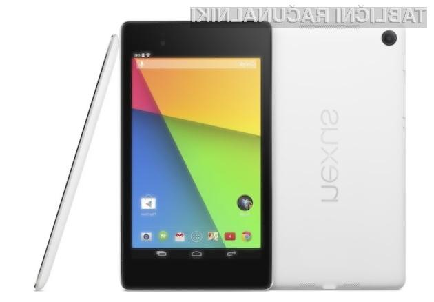 Google Nexus 7 z belo obarvanim ohišjem naj bi šel v prodajo kot za stavo!