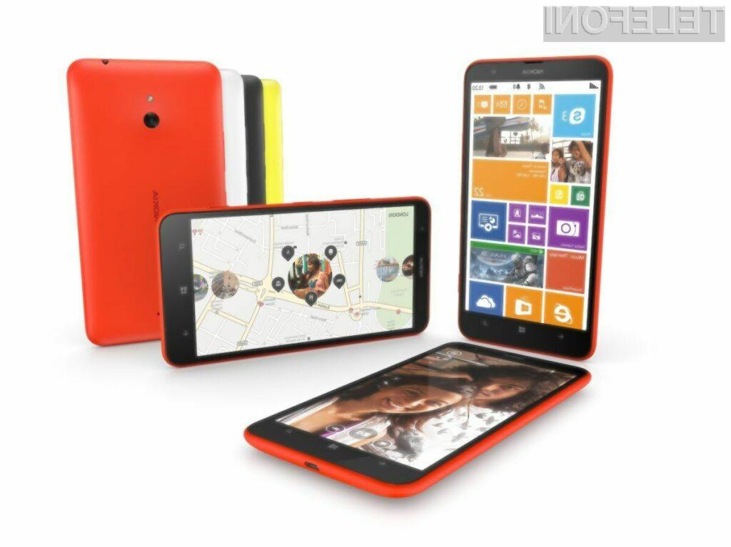 Mobilnik Nokia Lumia 1320 naj bi šel na Kitajskem naprodaj kot za stavo!