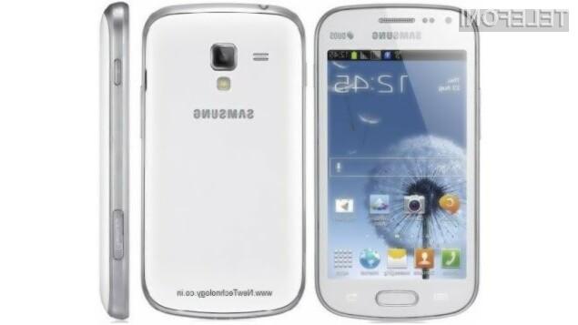 Pametni mobilni telefon Samsung Galaxy S Duos 2 za malo denarja ponuja veliko!