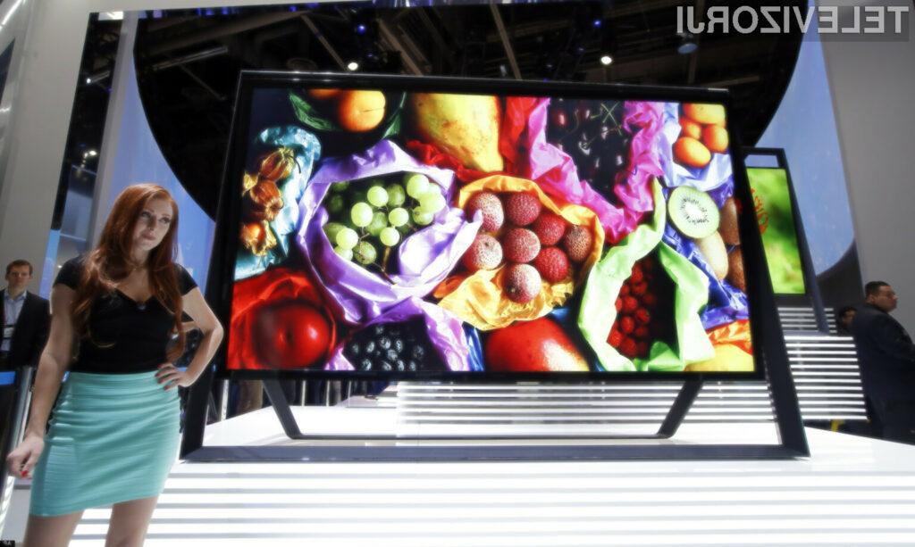 Samsung je izdelal dva in pol metra velik televizor..