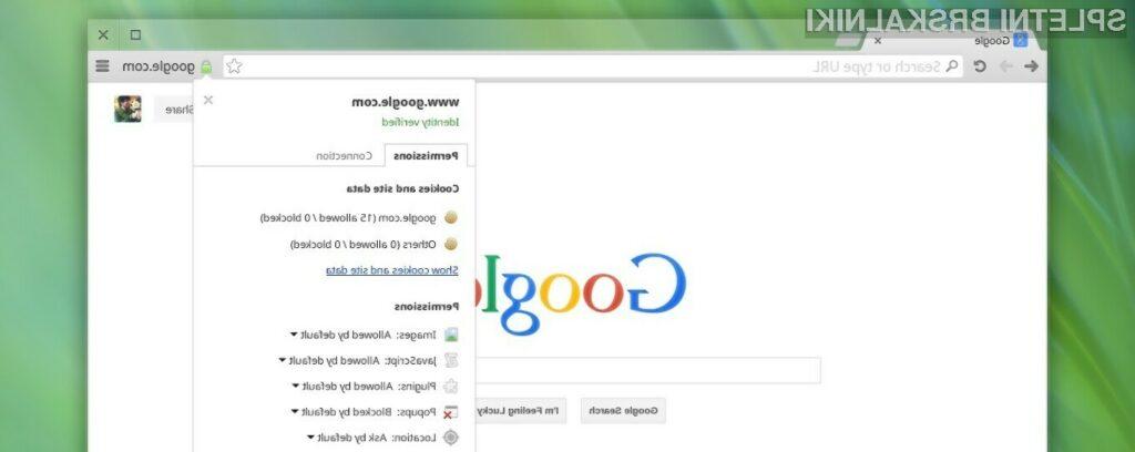 Ta Chromium eksperiment umakne funkcijo URL iz URL vrstice.