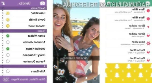 Nepridipravi izmaknili osebne podatke 5 milijonov uporabnikov Snapchata!