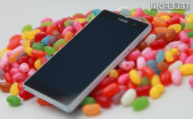 Android 4.3 za bogato paleto mobilnikov Sony