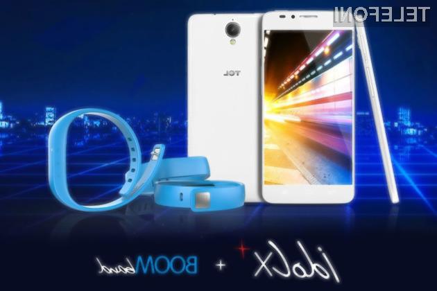 Pametni mobilni telefon TCL Idol X + je pisan na kožo predvsem športnikom in rekreativcem!