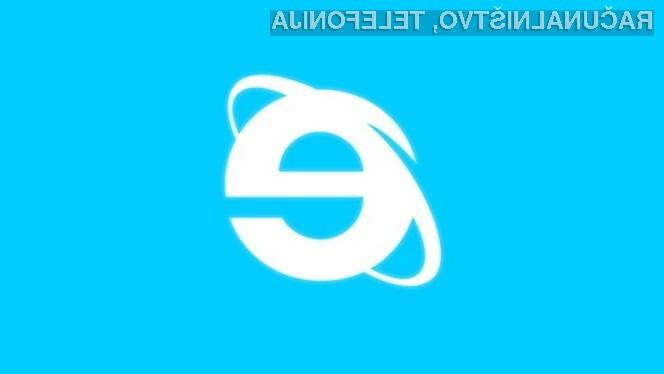 Internet Explorer se je uporabnikom spleta ponovno prikupil na račun hitrega in zanesljivega delovanja!