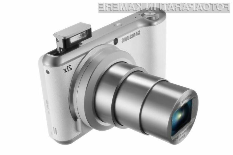 Pametni digitalni fotoaparat Samsung Galaxy Camera 2 bo zlahka prepričal tudi najzahtevnejše uporabnike!
