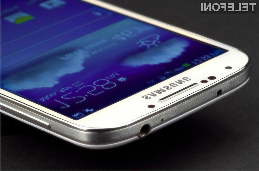 Pametni mobilni telefon Samsung Galaxy S5 naj bi bil vsaj za razred boljši od konkurence!