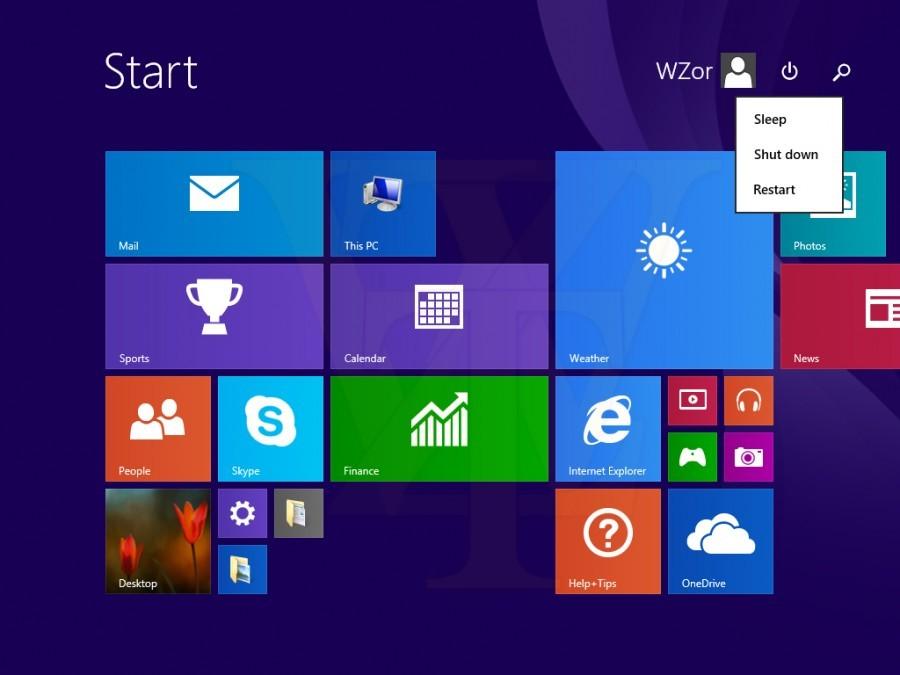 Med novostmi se bo na Start zaslonu pojavil tudi gumb za zaustavitev računalnika, ki je bil do zdaj precej skrit.
