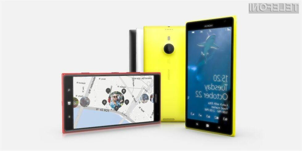 Izjemno priljubljeni pametni mobilni telefon Nokia Lumia 1520 naj bi kmalu dobil manjšo izvedenko.