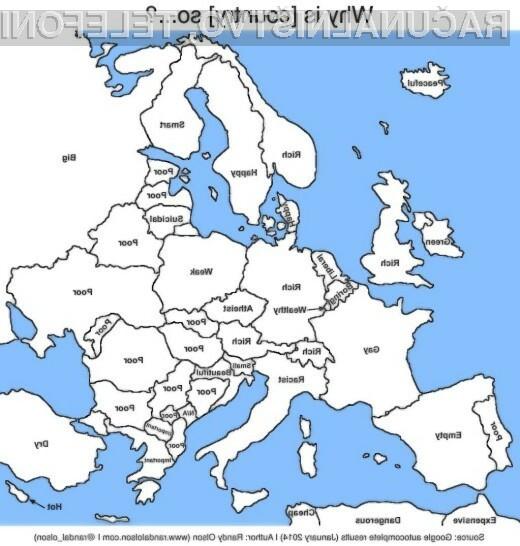 Google nas ima za majhne, Hrvaška pa je lepa
