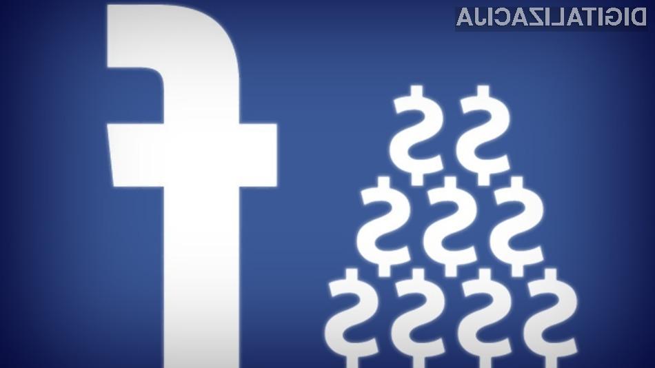 Facebook z novimi pravili igre za oglaševalce in uporabnike računa na to, da bodo podjetja pričela množično posegati po plačljivih objavah.