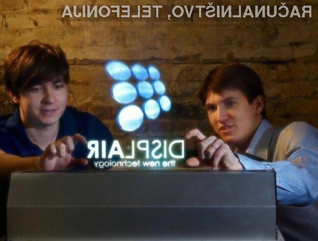 Zaslon Displair bo zlahka prepričal tudi najzahtevnejšega uporabnika!