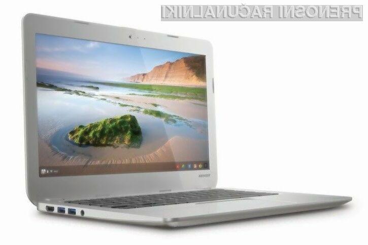 Toshiba Chromebook bo kot nalašč za uporabnike Googlovih storitev.