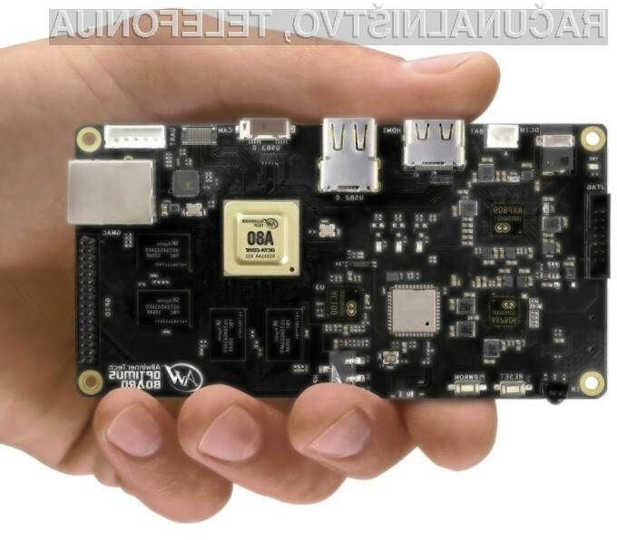 Miniaturni računalnik OptimusBoard se bo zlahka prikupil predvsem računalniškim zanesenjakom.