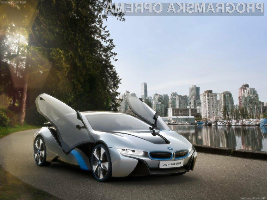 Električna vozila, kot je BMW i8 ne bodo zmanjšala onesnaženosti zraka.