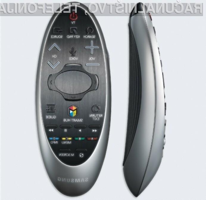 Daljinski upravljavec Samsung 2014 Smart Control bo močno poenostavil upravljanje s pametnim televizorjem.