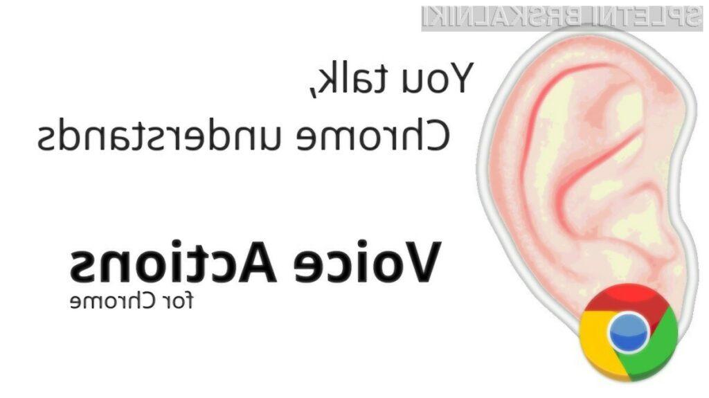 Chrome vam lahko prisluškuje.