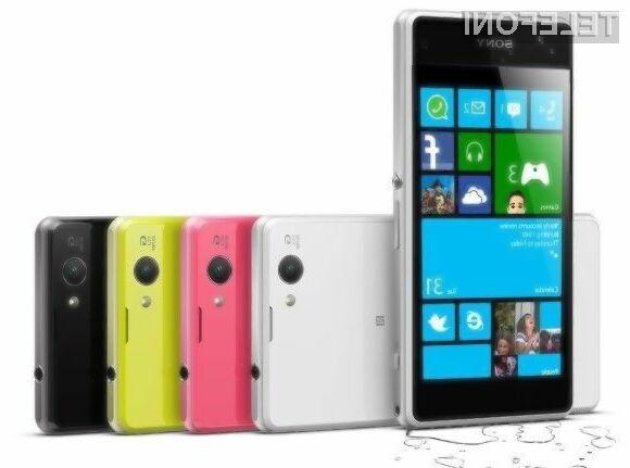 Windows Phone naj bi se odlično prilegal pametnim mobilnim telefonom podjetja Sony.