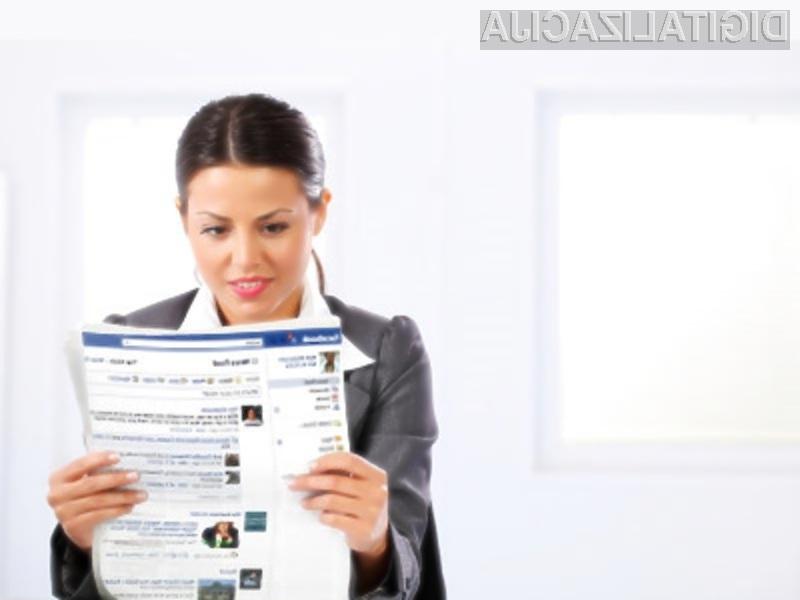 Priljubljeno družbeno omrežje Facebook naj bi se kmalu preizkusilo tudi v vlogi digitalne revije oziroma časopisa.
