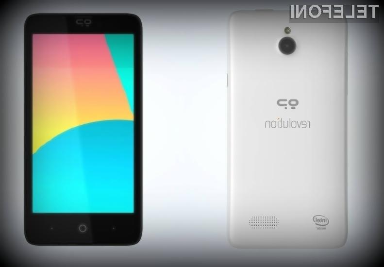 Pametni mobilni telefon Geeksphone Revolution se bo zlahka prikupil uporabnikom Androida in Firefoxa OS!