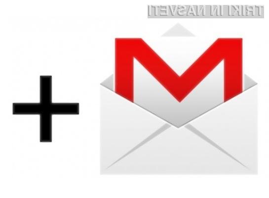 Uporabniki družbenega omrežja Google Plus bodo kmalu pridobili možnost pošiljanja elektronske pošte tudi popolnim neznancem.