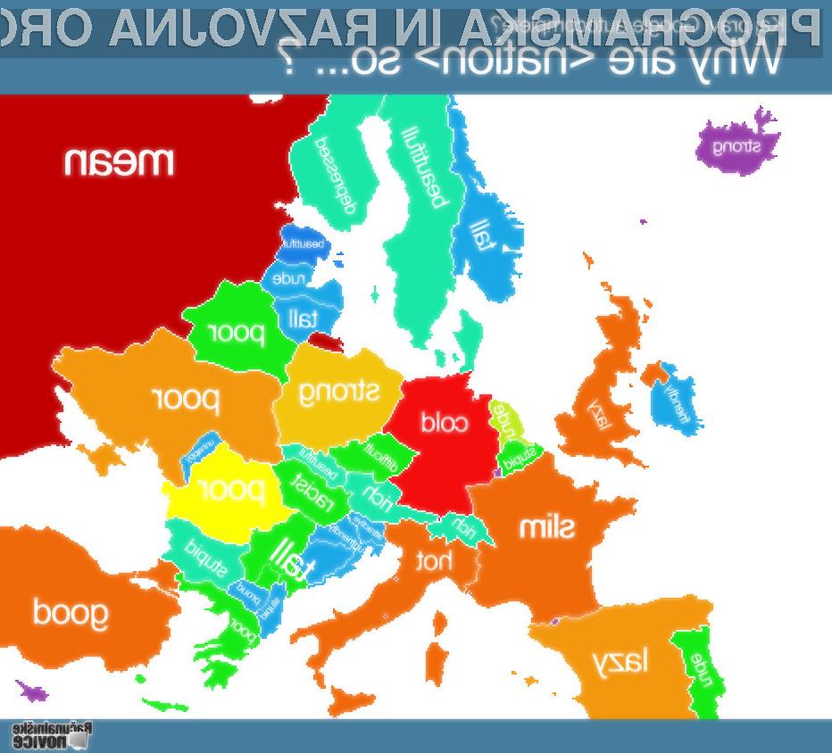 Hrvati so neprijazni, Bolgari pa neumni, pravi Google!