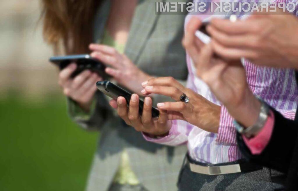 Uporabniki iPhonov so test rešili najhitreje.