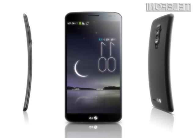 LG G Flex (januar 2014)