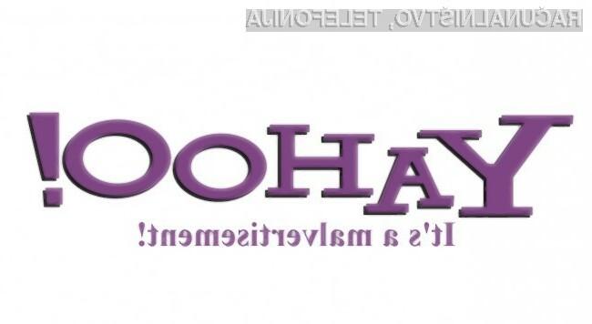Škodljivo programje nad uporabnike Yahooja!