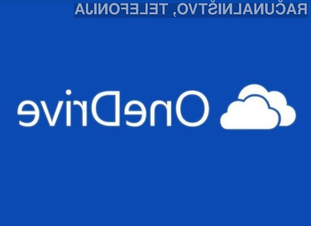 Podjetje Microsoft bo preklop na blagovno znamko OneDrive opravilo še pred pomladjo!