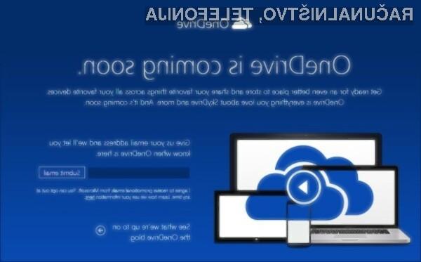 Microsoft SkyDrive postal OneDrive