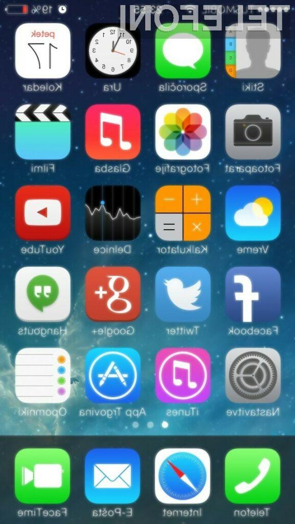 Odslej je na voljo slovenski prevod za iPhone in iPad!
