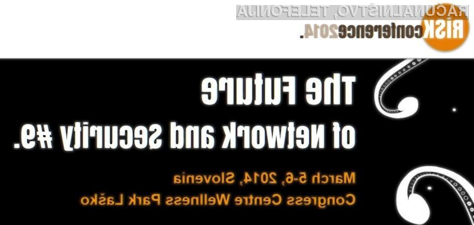 Letošnji RISK 2014 bo potekal med 5. in 6 marcem v kongresnem centru Thermana Laško.