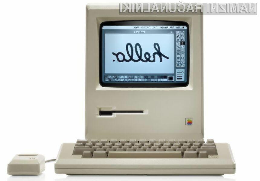 Od predstavitve prvega Applovega osebnega računalnika Macintosh je minilo že 30 let!