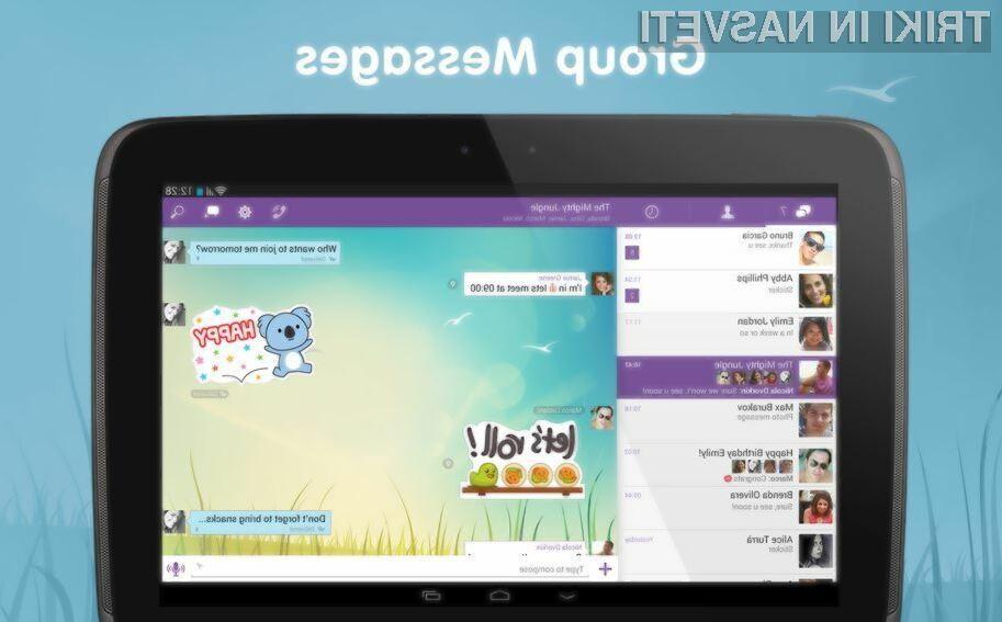 Programska oprema Viber ponuja prav vse, kar potrebujemo za komuniciranje s prijatelji in znanci!