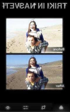 Prenovljeni mobilni program Photoshop Express se vam bo zlahka prikupil!