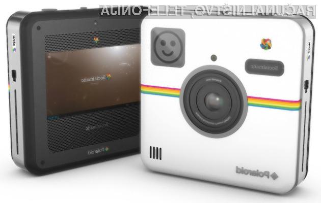 Digitalni fotoaparati Polaroid Socialmatic z Instagramom nas bodo zlahka prevzel!