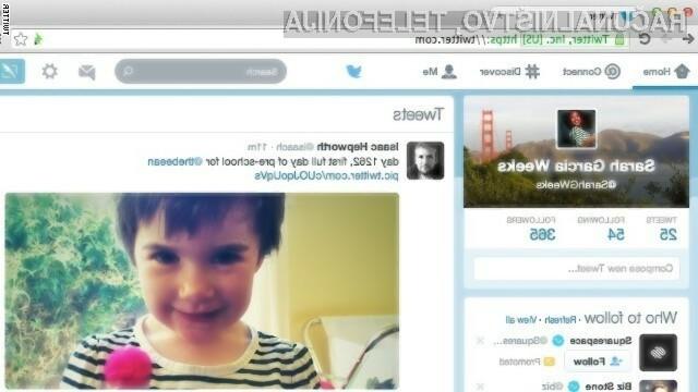 Twitter z novim izgledom: tvitaj več, beri manj!