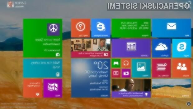 Windows 8.1 posodobljen?