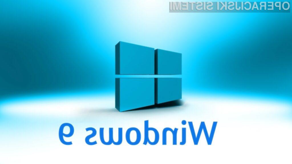 Microsoft naj bi se pri Windowsih 9 odpovedal modernemu grafičnemu vmesniku in ponovno uvedel gumb »Start«.