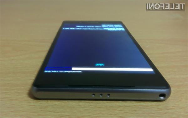 Pametni mobilni telefon Sony Xperia Z2 bo zlahka prepričal tudi najzahtevnejše uporabnike!
