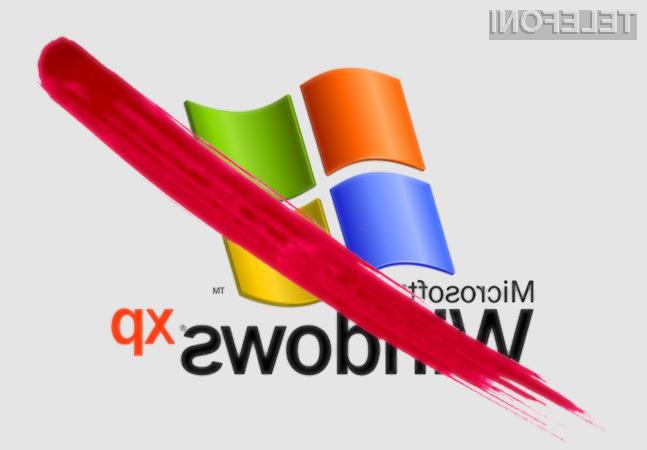 Čeprav za Windows XP po 7. aprilu ne bo več na voljo varnostnih popravkov, naj bi ga še vedno uporabljalo kar 37 odstotkov uporabnikov!