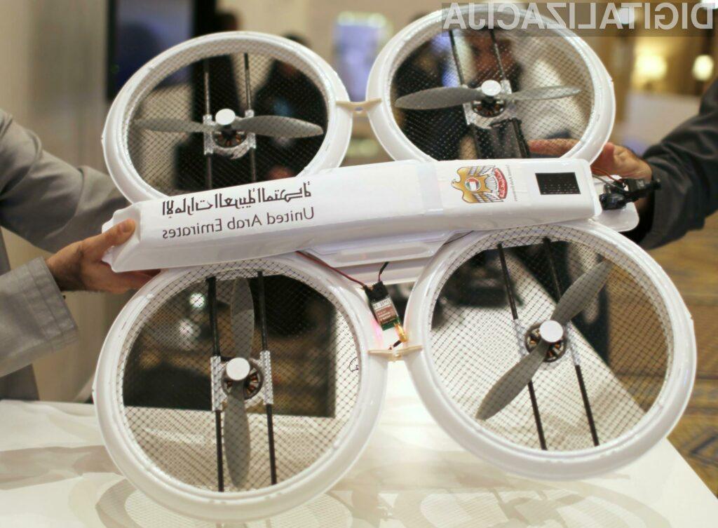Leteči droni namesto poštarjev