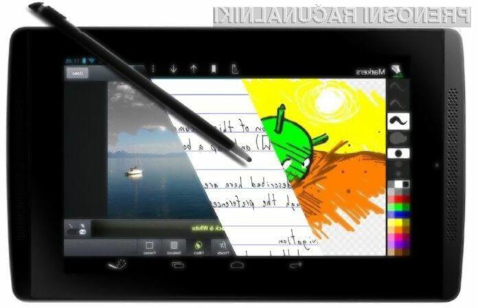 Prenovljena tablica Nvidia Tegra Note 7 je bogatejša za povezavo 4G/LTE in Android 4.4.2 KitKat.