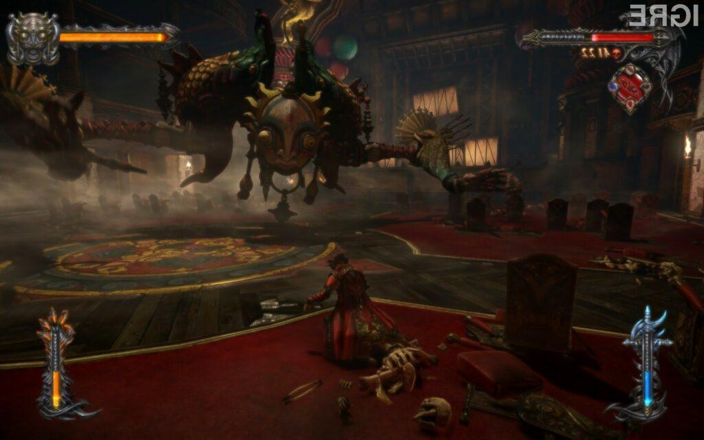 Bodite Dracula v Lords of Shadow 2