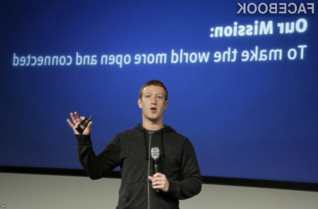 Zuckerberg o prihodnjih aktivnostih Facebooka