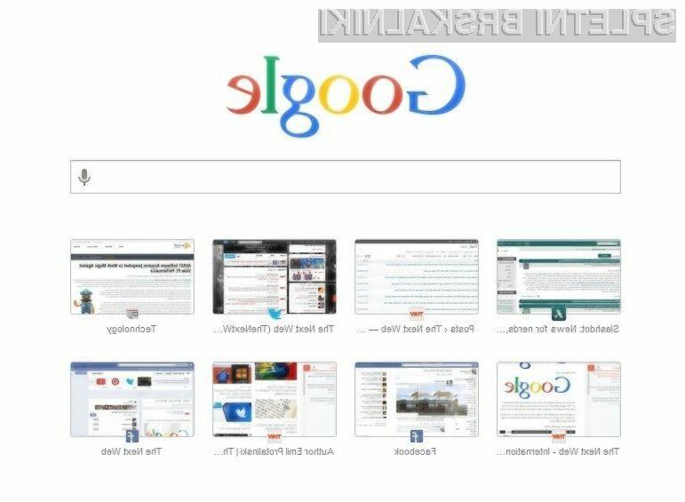 Novi Google Chrome 33 vas bo zlahka prevzel!