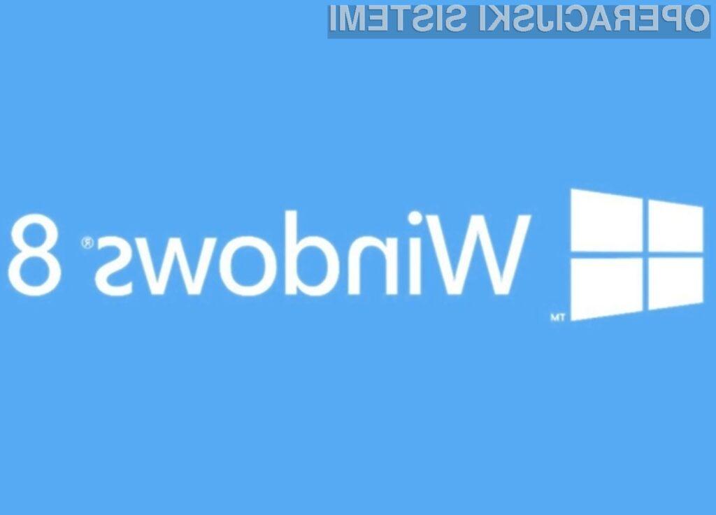 Microsoft s prodajo operacijskega sistema Windows 8 ni zadovoljen.