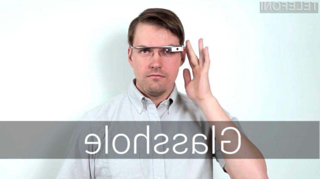 Googlovi nasveti o tem kako se obnašati z očali Google Glass