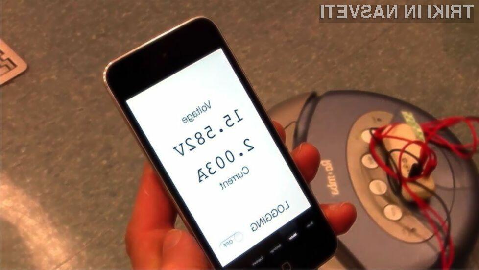 Pametni mobilni telefon bomo kmalu lahko uporabljali še v vlogi digitalnega multimetra!